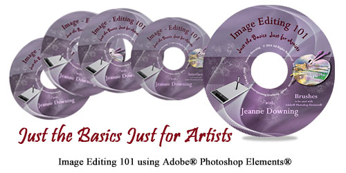 Just the Basics Just for Artists DVD Series